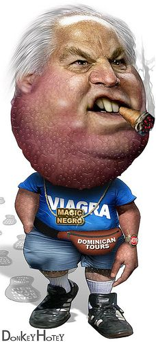 you are what you eat, then Rush Limbaugh must eat ginormous dicks… Awesome Art Courtesy Of Donkey Hotey Cartoon Faces, Funny Faces, Funny Caricatures, Celebrity Caricatures, Ugly Americans, Current President, Rush Limbaugh, Political Satire, Caricatures