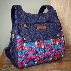 Квилтинг, пэчворк на рюкзаках | OK.RU