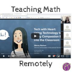 Teach Math Remotely with Pear Deck - Teacher Tech Teaching 5th Grade, Fifth Grade Math, Teaching Math, Fourth Grade, Teaching Ideas, Math Teacher, Math Classroom, Google Classroom, Classroom Ideas
