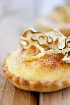 lemon sabayon tartlettes