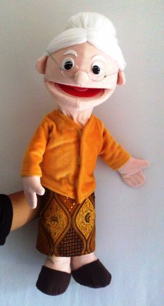 moveable mouth hand puppet for special order
