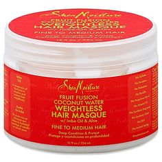 SheaMoisture Fruit Fusion Coconut Water Weightless Hair Masque