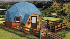 Dome Home Photo Gallery | Geodesic Dome Home