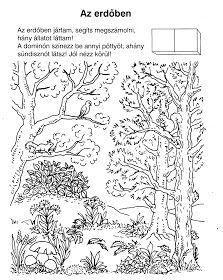 Ovisélet : Nyomtatható feladatlapok Cicely Mary Barker, Preschool Worksheets, Forest Animals, Earth Day, Natural, Kindergarten, Diagram, Education, Learning