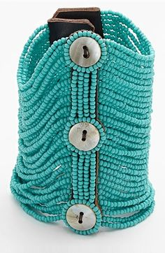 love this #mint beaded bracelet http://rstyle.me/n/nbeqrr9te