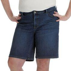 Lee Courtney Curvy Fit Jean Bermuda Shorts - Women's Plus Size