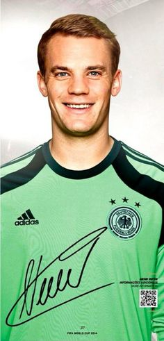 Manuel Neuer named German Footballer of the Year 2014 - congratulations Manu ♥