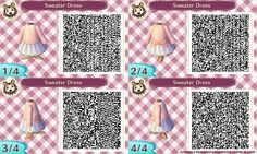"""Pastel Pink Sweater Dress """" Based off my Pastel Pink Sweater. Goes well with the Pink Lace Umbrella. Recolourations: Blue. """" [CLICK HERE TO VIEW THE NEW VERSIONS]"""