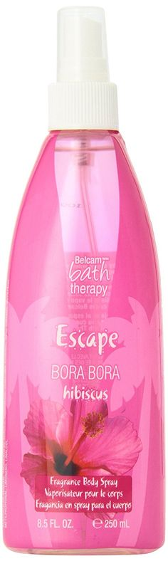 Belcam Bath Therapy Body Spray, Bora Bora Hibiscus Fragrance, 8.4 Fluid Ounce * Check out the image by visiting the link.