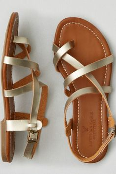 American Eagle Outfitters AEO Strappy Sandals