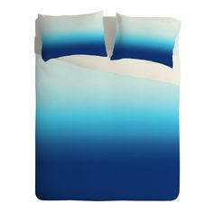 Natalie Baca Under The Sea Ombre Sheet Set Lightweight | DENY Designs Home Accessories