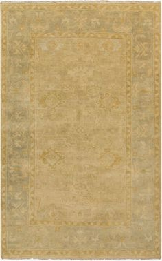 $5 Off when you share! Surya Hillcrest HIL9023 Beige Rug #RugsUSA