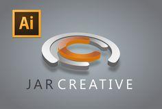 Adobe Illustrator cc tutorial (JAR CREATIVE LOGO) Photoshop Design, Photoshop Tutorial, Corel Draw X3, Graphic Art, Graphic Design, Adobe Illustrator Tutorials, Creative Logo, Layout Design, Design Ideas