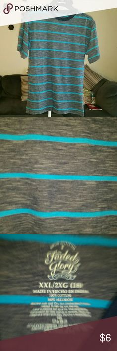 NWOT!!! Faded Glory boys shirt! This was washed but never worn!! Brand is Faded Glory, great colors together! I'm open to offers and i bundle UNDER 5lbs, if I need to upgrade label Posh charges me the entire shipping amount as well as charging the buyer, they double dip. No trades, smoke-free and pug friendly. I typically ship same or next day Faded Glory Shirts & Tops Tees - Short Sleeve