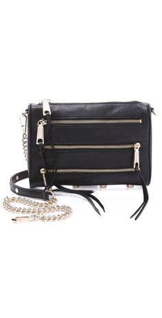 Rebecca Minkoff Mini 5 Zip Bag | SHOPBOP