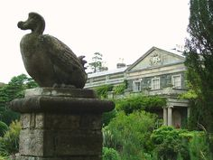 Newtownards- Portaferry Road- Mount Stewart- Dodo Terrace- sculpture of dodo and view to house- 4 | by Cairlinn