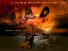 wolf and native woman Native American Wisdom, Native American Pictures, Indian Pictures, Wolf Pictures, Native American Indians, Native Americans, Indian Wolf, Native Indian, Native Art