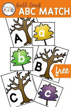 This great Fall activity will have your kids having fun while practicing their alphabet! This learning activity is easy and low prep which is perfect for your Fall lesson plans! #fallactivities #alphabet