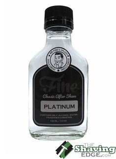 Fine Accoutrements Platinum After Shave Splash, 100 ml