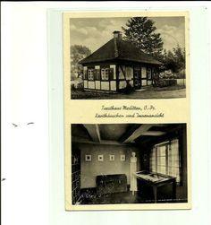 Forsthaus Moditten, O.Pr., Kanthäuschen und Innenansicht, gest. 1942