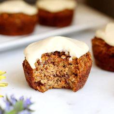 Carrot Cake Muffins --Vitamix