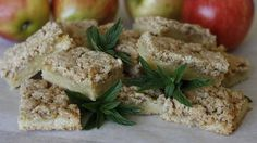 These Apple crumble biscuits hark back to that time, but without the mouth cloying effects. They are buttery and sweet and can be made relatively quickly – certainly as quick as a packet instruction anyway. Wine Recipes, Cooking Recipes, Biscuit Recipe, Brownies, 1970s, Delish, Biscuits, Apple, Cakes