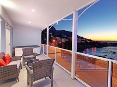 The Nelson Villa - Live in an African-style apartment so close to the sea that you can actually see the ripples in the water, the kelp swaying in the breakers and watch the African sun slide under the horizon from your private ... #weekendgetaways #campsbay #southafrica