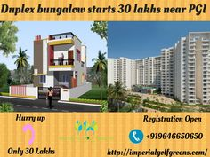 Find #2BHK & #3BHK #Duplexbungalowbeautifuldesignsstart 30 #lakhsnearPGI, #Chandigarh with your #affordable #budget. Get #finest #deals on all types of #2BHK & #3BHK #bungalow in #Chandigarh. #plots, #apartment (#under #construction) for immediate #contact us +919646650650 visit our #website http://imperialgolfgreens.com/
