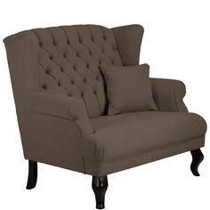 Moderne fauteuil vegas de comfortabele fauteuil is bekleed met een ribstof welke zeer aaibaar - Zeer comfortabele fauteuil ...