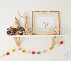 DIY Pom Pom Garland Nursery