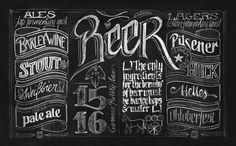 Chalkboard Wallmurals by Lisa Nemetz