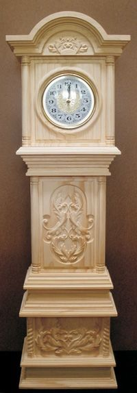 Cool Elegant Grandfather Clock Plans | Woodworking Plans | Pinterest | Clock Grandfather Clocks And ...