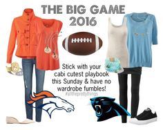 """The BIG GAME 2016"" by brie-zy on Polyvore featuring CAbi, Converse, Charlotte Russe, women's clothing, women, female, woman, misses and juniors"