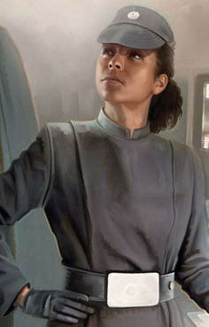 Imperial Officer F NPC. Bonus Points for F and non-white.