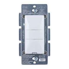 GE ZWave Plus Wireless Smart Lighting Control Motion Switch OnOff InWall Occupancy Vacancy Sensor Includes White  Light Almond Buttons Works with Amazon Alexa 26931 *** Find out more about the great product at the image link. (This is an affiliate link and I receive a commission for the sales)