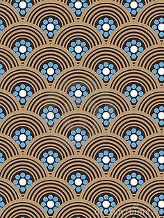 Art Deco Geometry 1 Art Print By Elisabeth Fredriksson