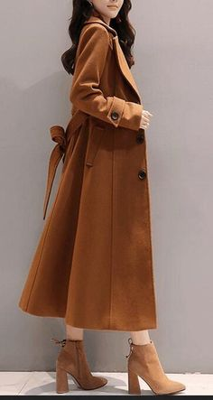 beec1fe97ccd66 WSPLYSPJY Womens Slim LongSleeves Overcoat Solid Color Lapel Trench Coat  with Belt 1 XXS