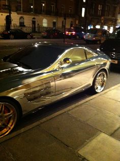 Parked in front of the Berkeley Hotel, London