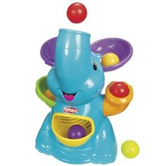 Playskool Poppin Park Elefun Busy Ball Popper: Amazon.co.uk: Toys & Games