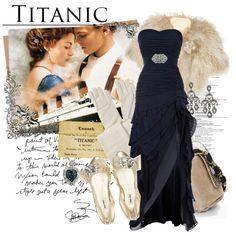 Deep Blue Romance. #womens fashion. #evening gown