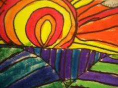 DREAM DRAW CREATE: Colorful Landforms
