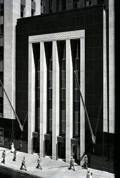 Field Building - Chicago, Illinois - circa 1930's - photographer Ken Hedrich.