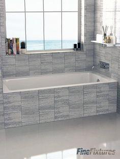 Drop In Or Alcove X Soaking Bathtub