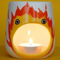 Howl's Moving Castle Calcifer Oil Burner