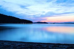 One of the best places on Earth: Lake Winnipesaukee, NH: Camp Brookwoods and Camp Deer Run at sunset.