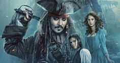 Pirates 5 Poster Sets Sail with Captain Jack, New Trailer Coming Tomorrow -- Take a look at the new poster and concept art featuring ghost sharks for Pirates of the Caribbean: Dead Men Tell No Tales, before the new trailer drops tomorrow. -- http://movieweb.com/pirates-caribbean-dead-men-tell-no-tales-poster/
