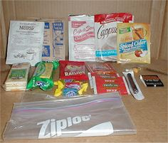 DIY MRE ideas, takes up less space and less of a cost than traditional mre's