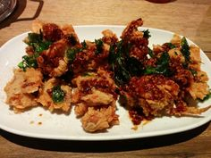Twelve spices soft shell crab - A: 3 B: 4
