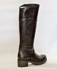 cizme-negre-427-a Fall Shoes, Riding Boots, Fall Winter, Collection, Women, Fashion, Horse Riding Boots, Moda, Women's
