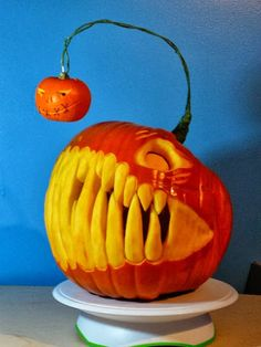 Cool Pumpkin Carving Ideas: Some of The Best of 2013 Halloween Pumpkins